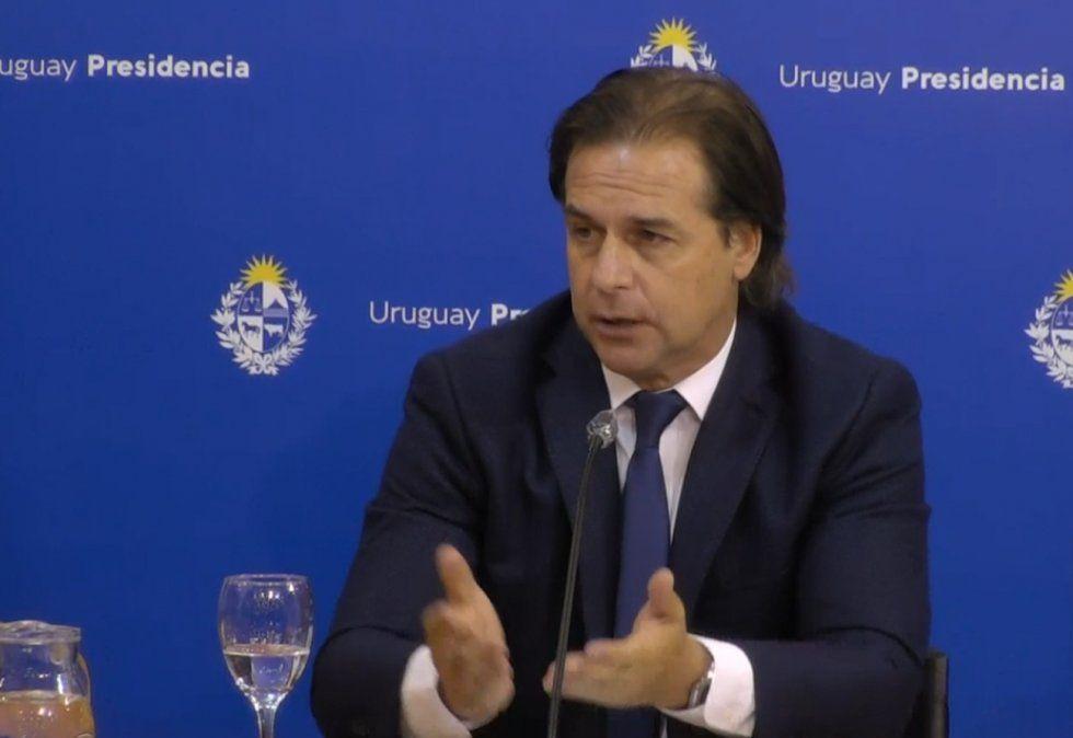 Lacalle anuncia un paquete de medidas por intentar frenar aumento de casos de Covid-19
