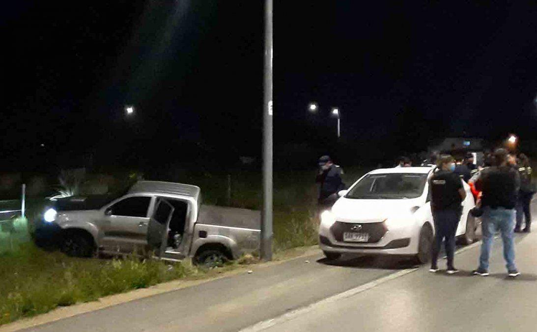 Persecución y tiroteo con la policía terminó con tres delincuentes detenidos