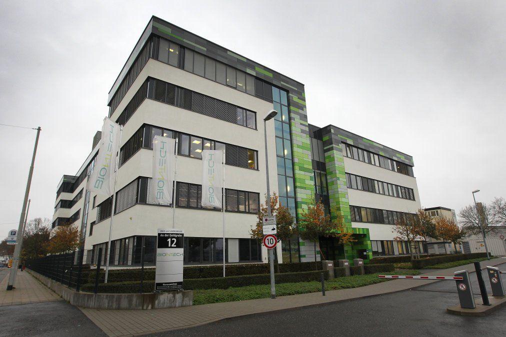 El cuartel general de BioNTech en Mainz