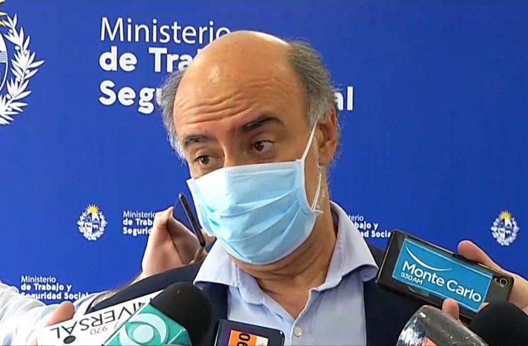 Ministro Pablo Mieres.