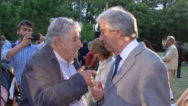Las palabras y el adiós de José Mujica: Hasta siempre Tabaré y por siempre