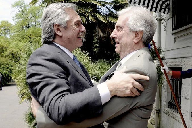 Alberto Fernández: Vázquez fue un hombre muy grande, muy importante