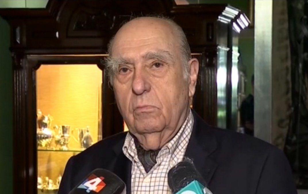 El recuerdo de Julio María Sanguinetti a Tabaré Vázquez