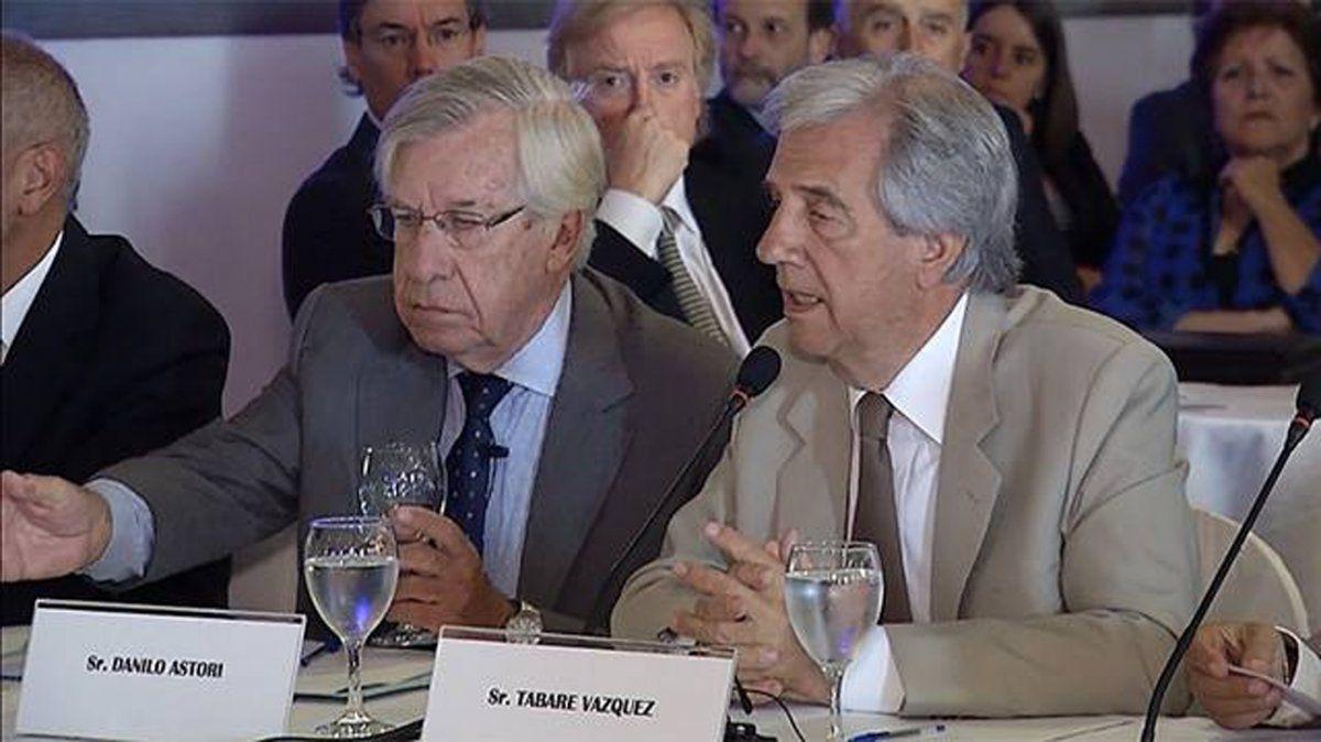 Danilo Astori se despidió de Vázquez con una carta: Te ganaste el cielo