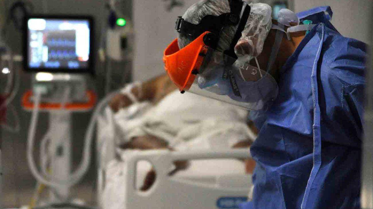 Aumentó a 15% la ocupación de camas de CTI con pacientes con Covid