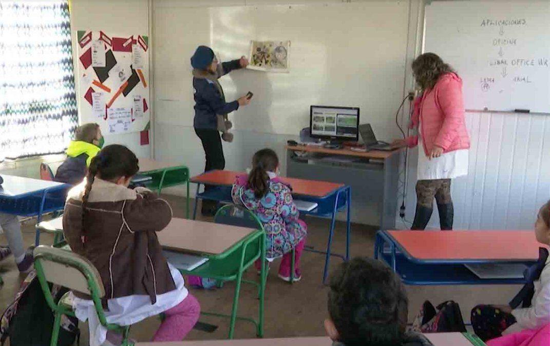 El 30% de las escuelas de Montevideo están afectadas por casos positivos de Covid-19