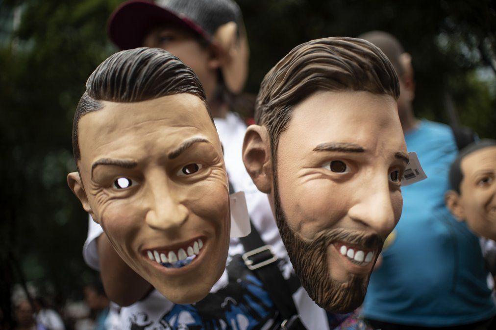 El duelo Messi - Cristiano Ronaldo sigue vigente
