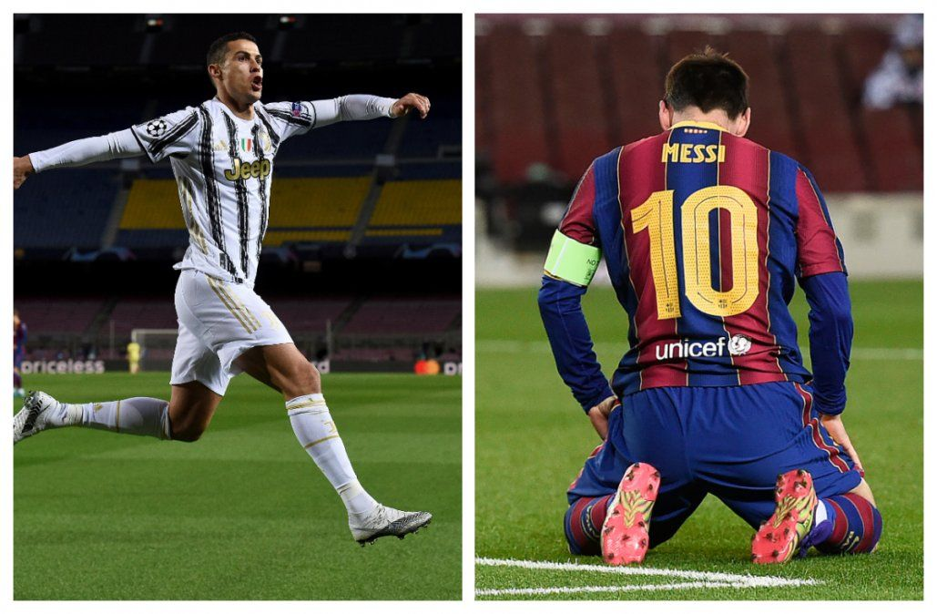 Ronaldo noquea a Messi y la Juve pasa como primera a octavos de Champions