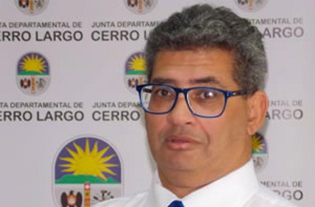 Detienen al presidente de la Junta Departamental de Cerro Largo Gustavo Viera