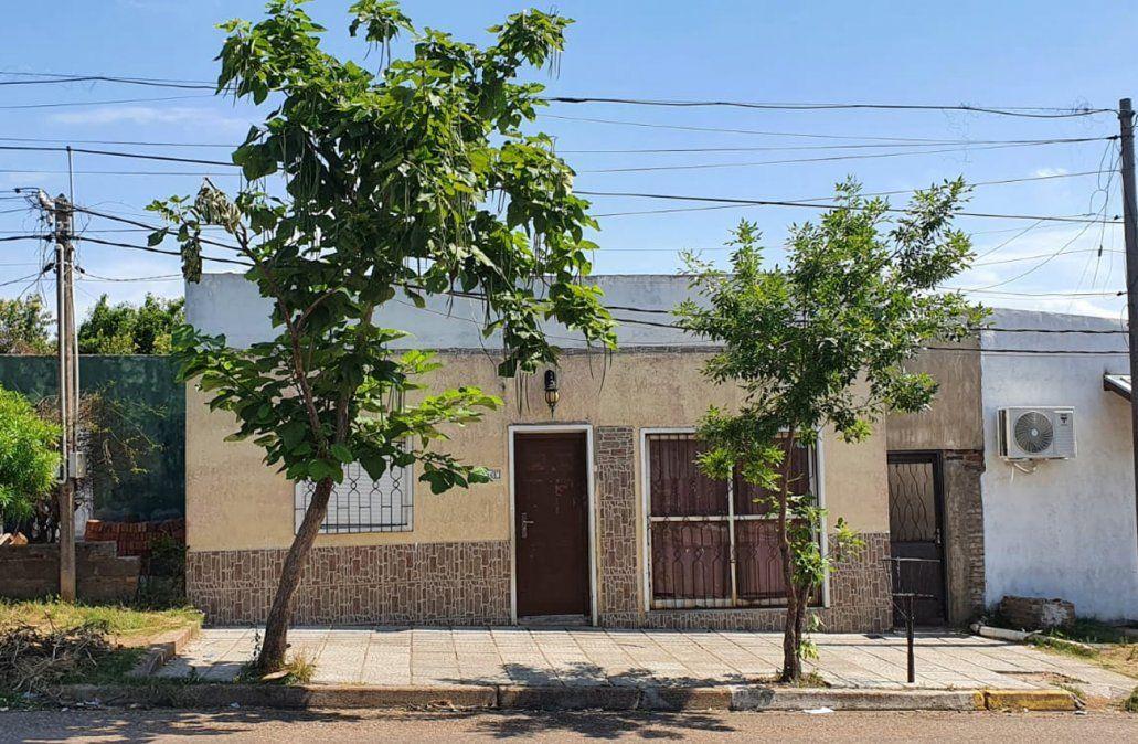 Barrio Salto Nuevo: La casa donde ocurrió el brutal femicidio.