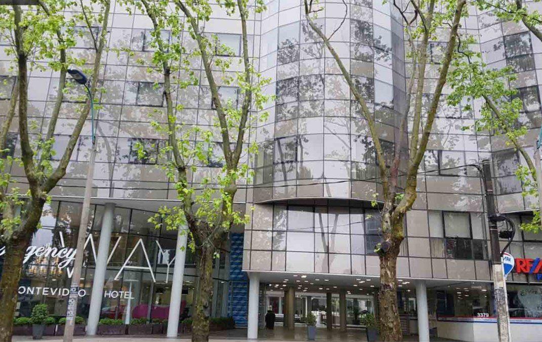 Lanzaron pirotecnia en hotel de Pocitos pero Nacional ya se había trasladado