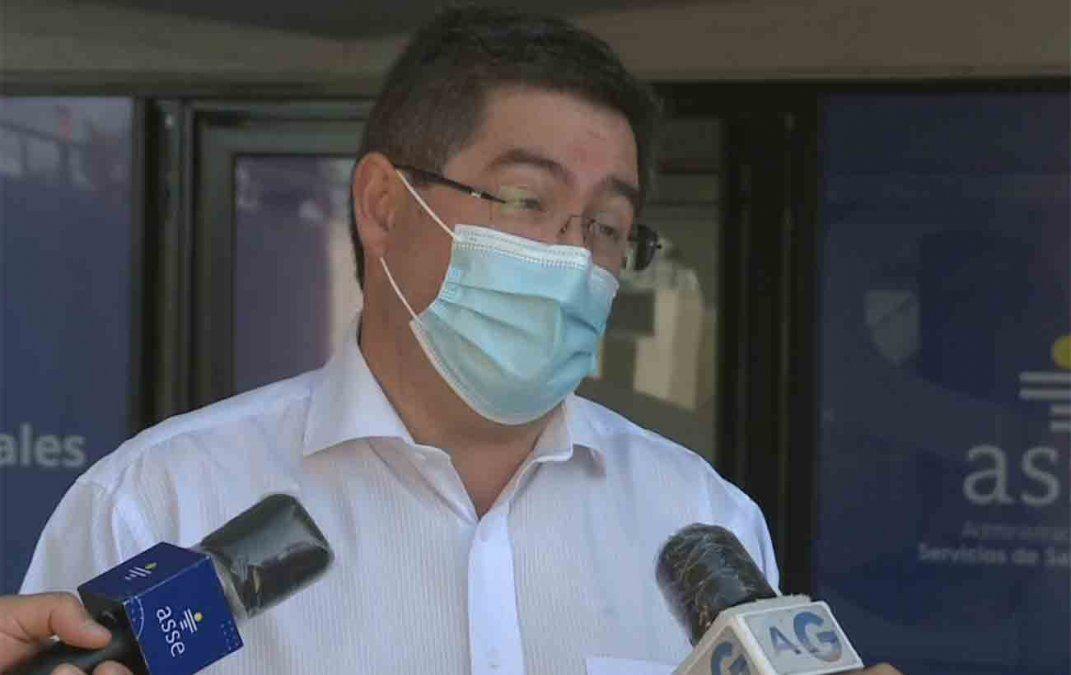 La situación es preocupante, dijo el presidente de ASSE sobre propagación de Covid-19