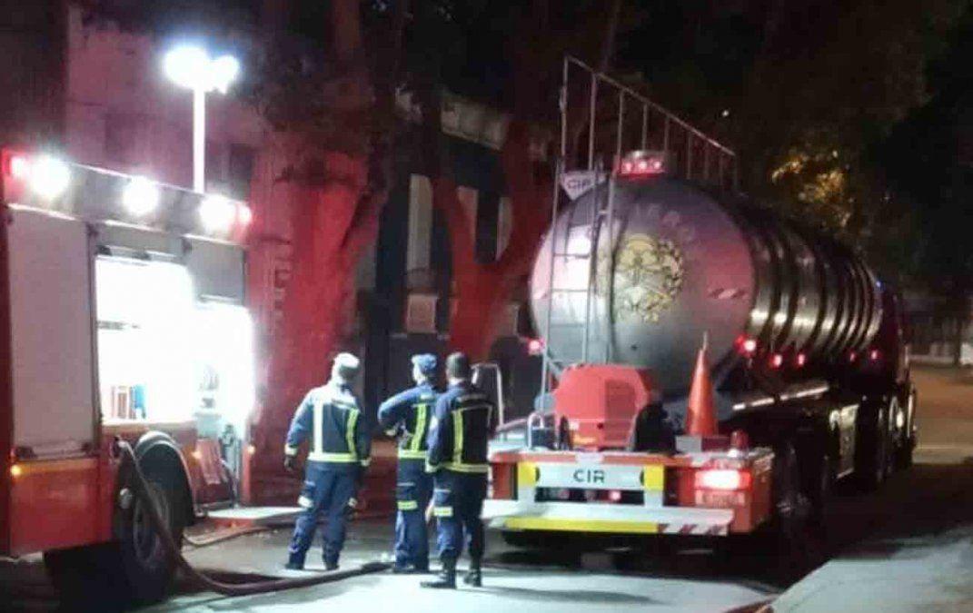 Incendio con material combustible deja pérdidas totales