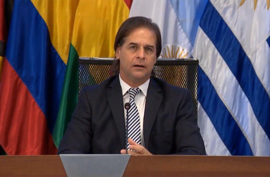 Lacalle Pou abogó por el consenso en el Mercosur y mirar el bien de cada nación