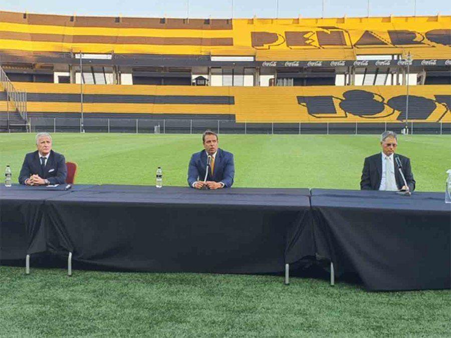 Ignacio Ruglio asumió como nuevo presidente de Peñarol