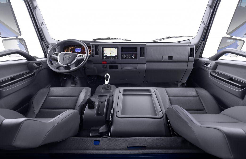 JAC Motors presenta en Uruguay su primer camión 100% eléctrico