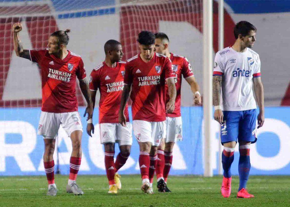Nacional perdió contra River y quedó afuera de la Libertadores