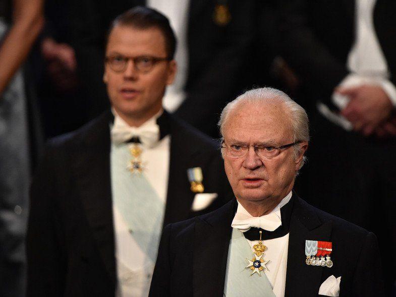 Ell Rey Carlos XVI Gustavo de Suecia