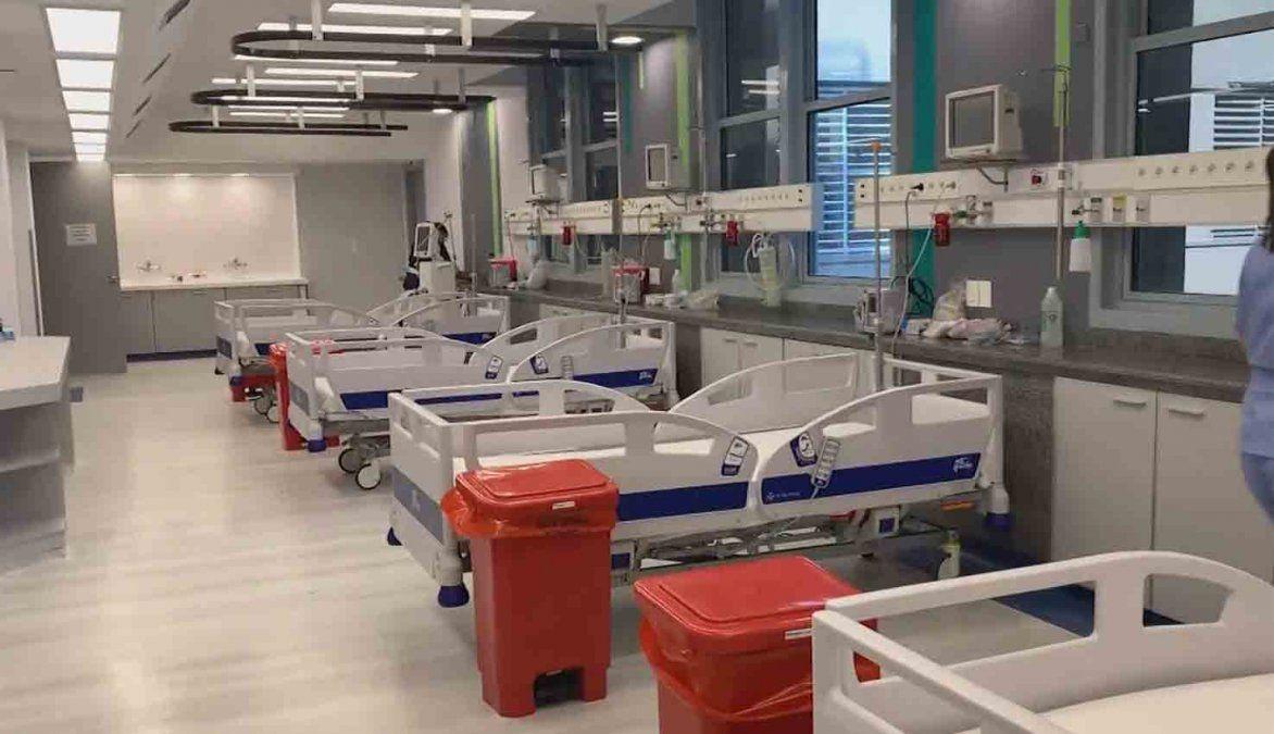 Remodelación en el Hospital de Clínicas amplió la capacidad de CTI en medio de la pandemia