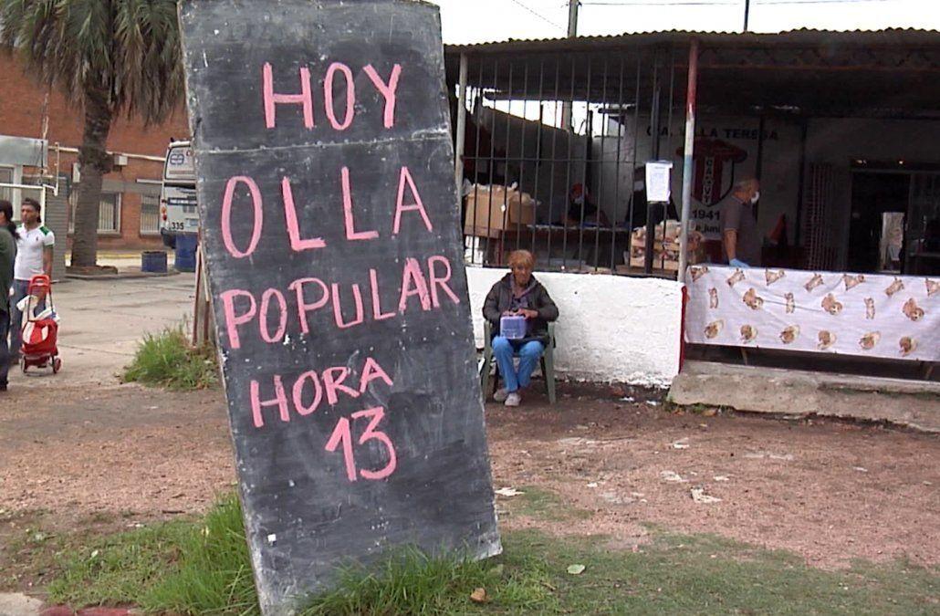 La Intendencia de Montevideo hizo compras por $1.8 millones para abastecer ollas populares