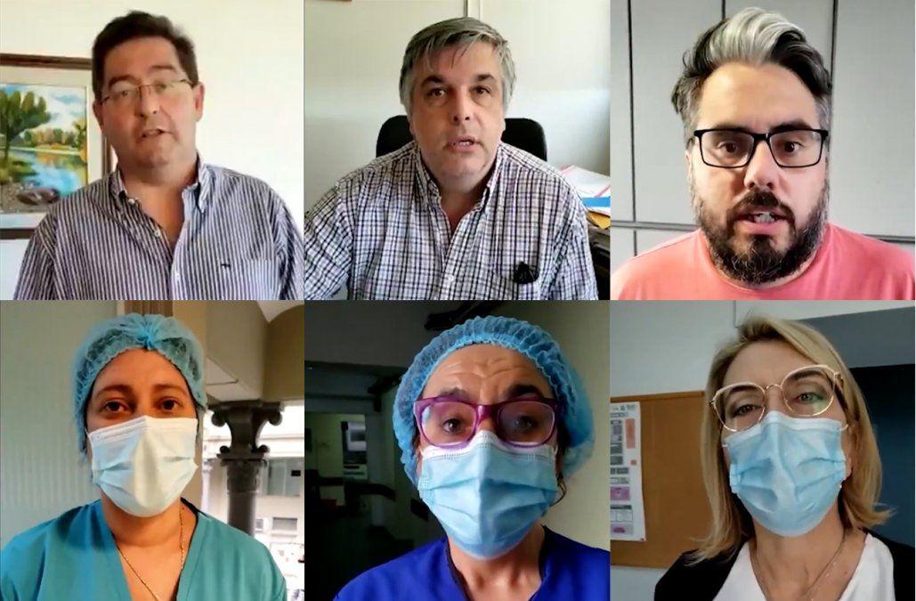 Son nuestros héroes, contamos con ustedes: mensaje de ASSE al personal de la salud