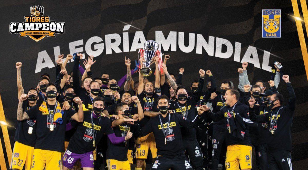 Luego de tres finales perdidas, Tigres de México se consagró campeón de Concacaf ante Los Ángeles F.C