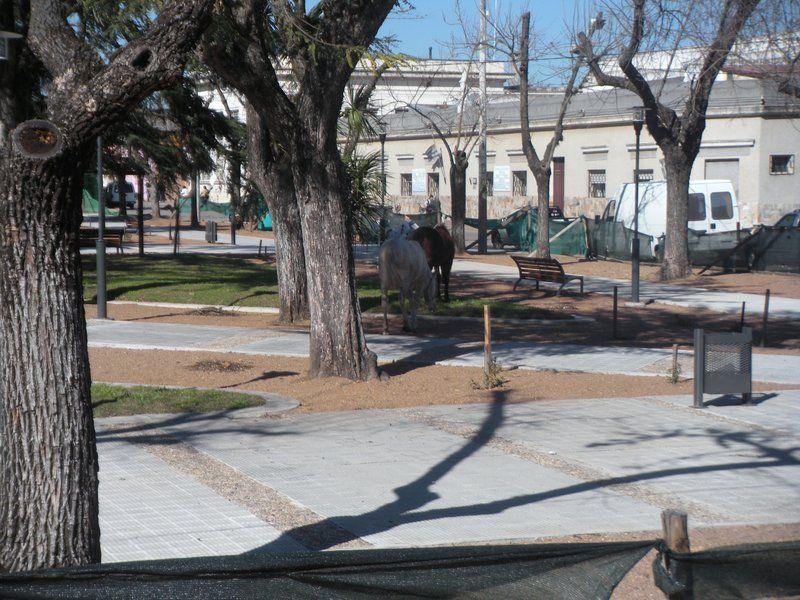 Plaza de la ciudad de Santa Lucía