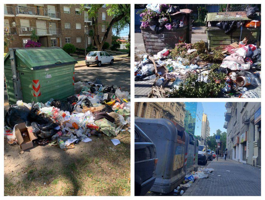Intendencia admite retraso con la basura; Adeom pesimista sobre una rápida solución