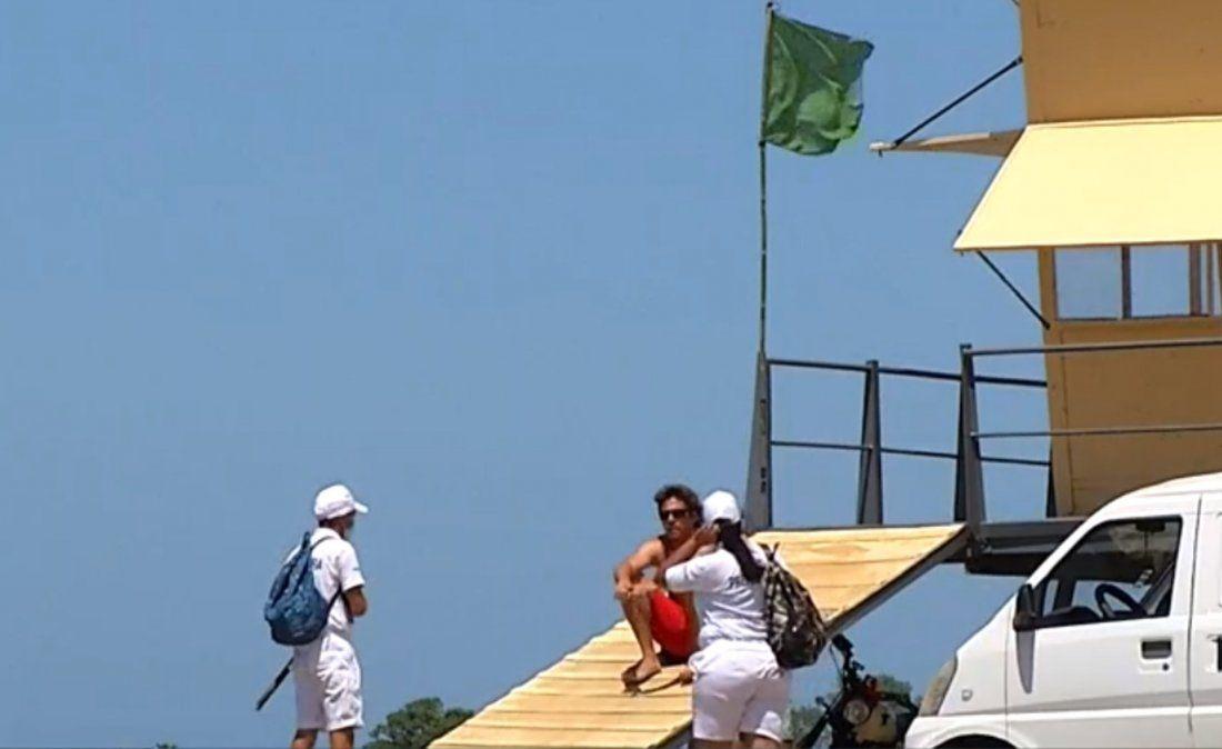 Este fin de semana comenzaron a bajar a la playa los marineros contratados por IM
