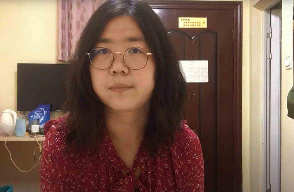 Cuatro años de prisión para la periodista ciudadana china que cubrió la epidemia en Wuhan