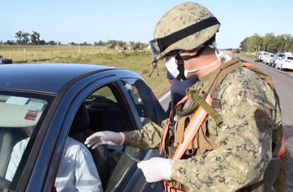 Puestos de control militar fronterizo impidieron el ingreso irregular de 146 personas