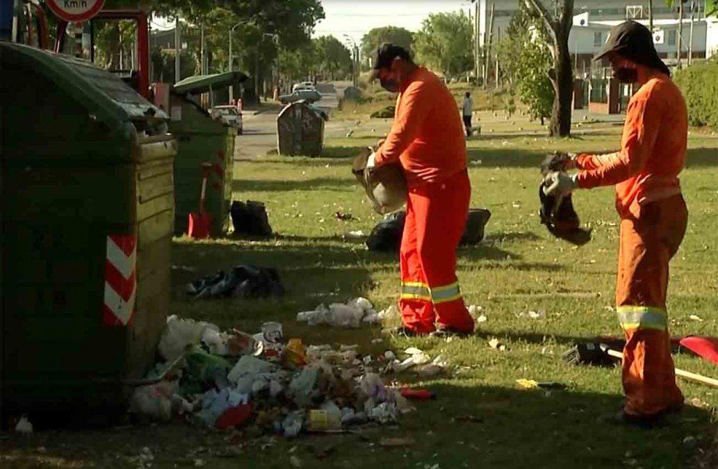 Hoy colocan 80 volquetas para descomprimir la acumulación de basura