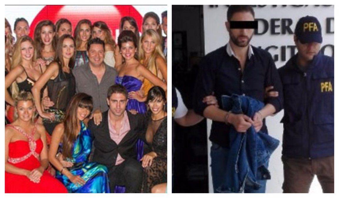 Dos momentos claves en la carrera de Santos: a principios de 2012 con sus modelos