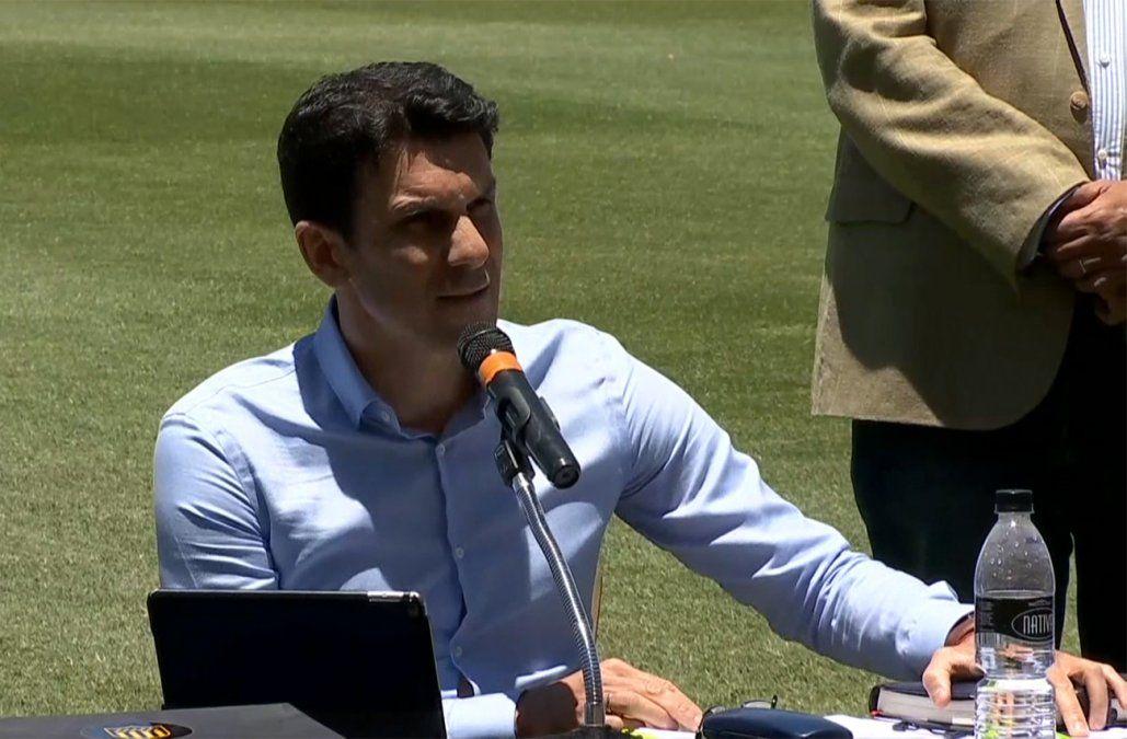 Larriera en Peñarol: Estamos en un gigante y tenemos ciertas obligaciones