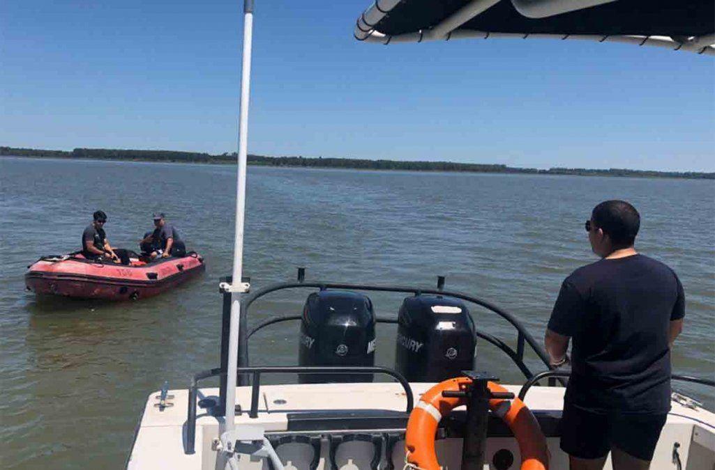 Hallaron sin vida al hombre que desapareció en las aguas del Río Santa Lucía