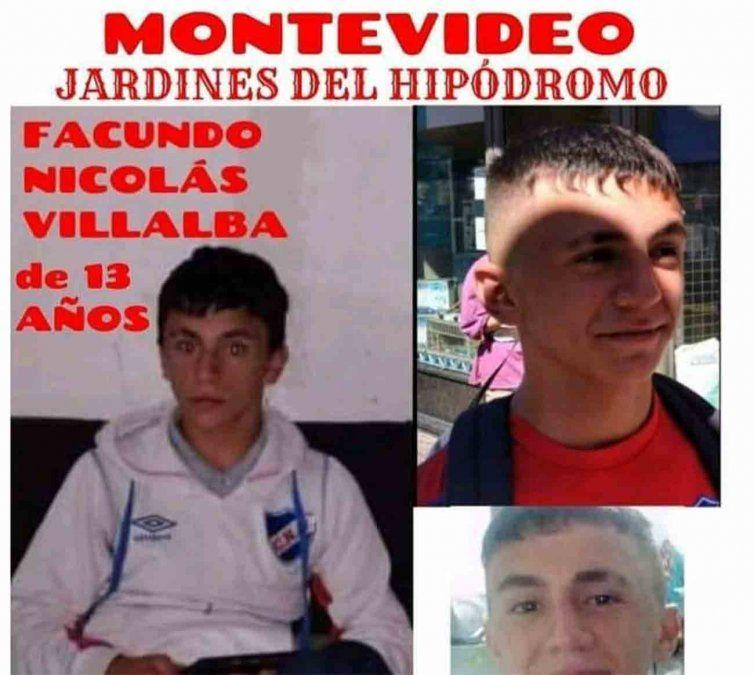 Buscan a un adolescente de 13 años desaparecido desde el 30 de diciembre