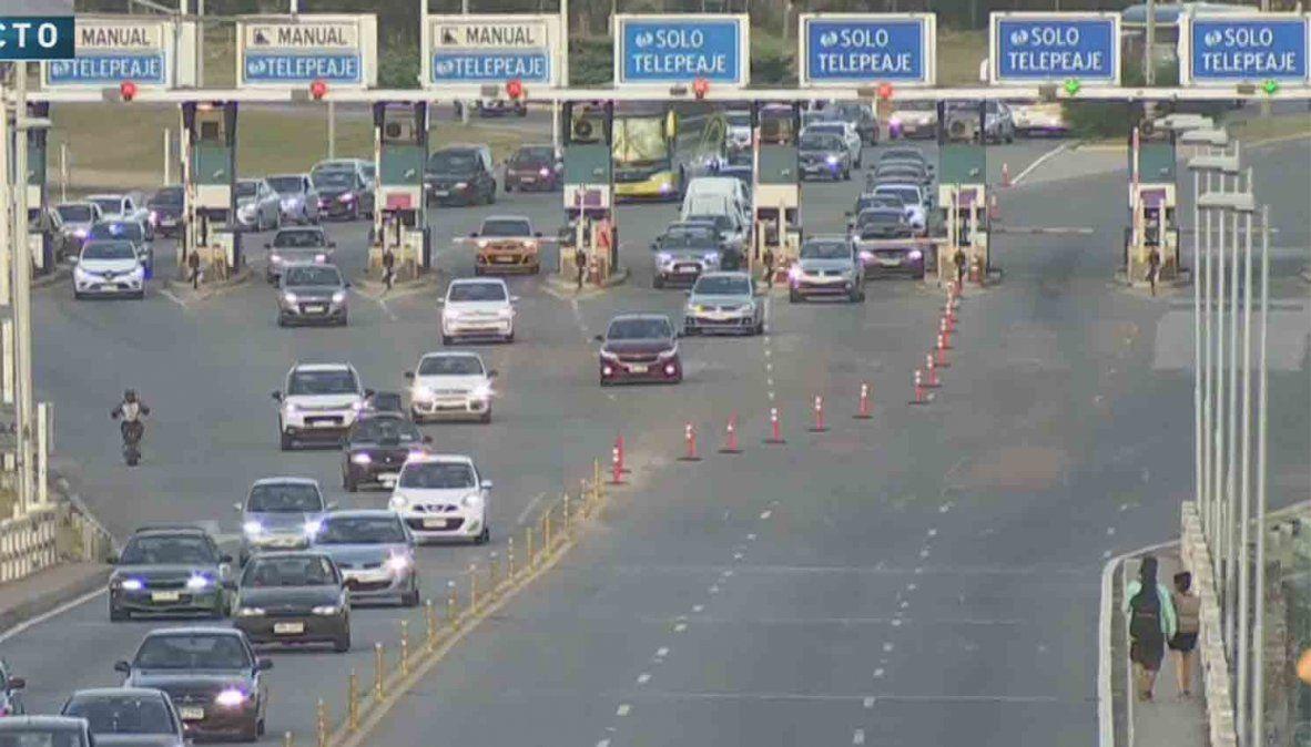 Peaje de Pando registró 3.000 vehículos por hora durante el fin de semana