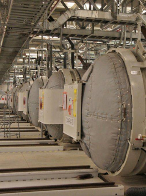 La Organización de Energía Atómica de Irán mostró en noviembre de 2019 el interior de la planta conocida como Fordo