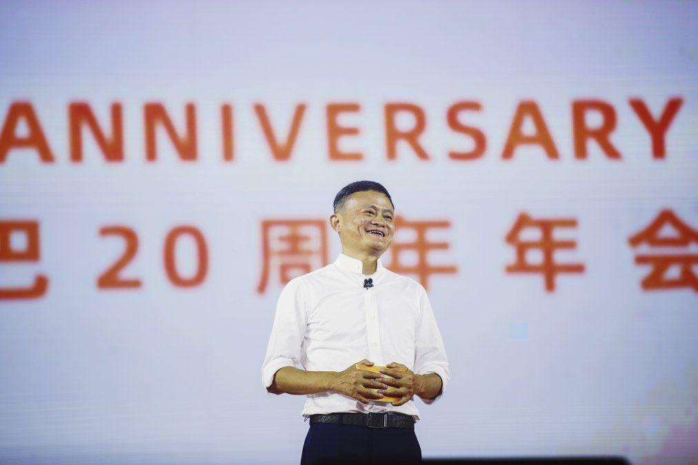 En setiembre de 2019 Jack Ma habla en un axcto por el 20 aniversario de Alibaba en Hangzhoul
