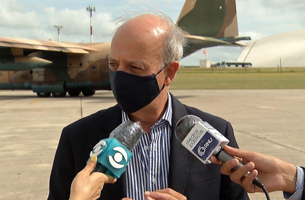 Javier García asumirá como ministro interino del Interior