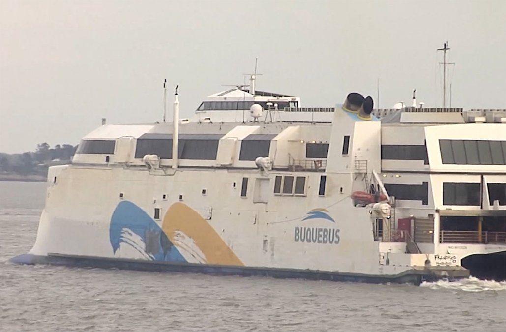El lunes será el segundo viaje de Buquebus para pasajeros con boletos comprados al 6 de enero