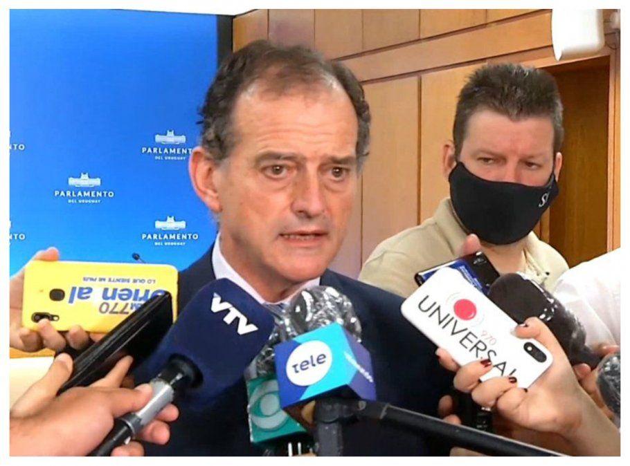 Manini: FA alentó movilizaciones que pudieron estar en el origen de la ola de contagios