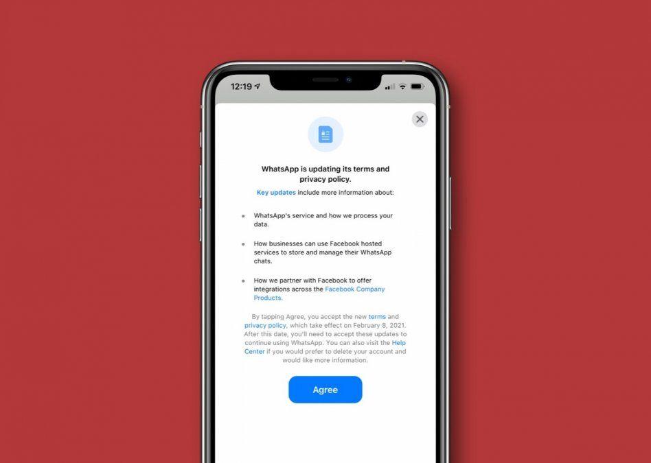 WhatsApp obliga a suscriptores a un polémico cambio de términos de uso