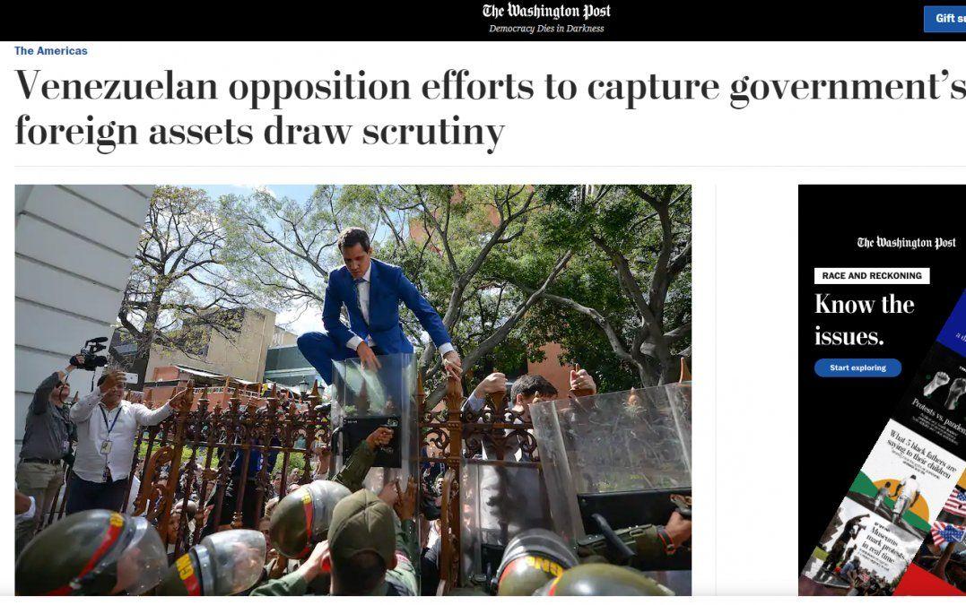 Guaidó niega coimas con activos de Venezuela e irregularidades con fondos humanitarios de EEUU