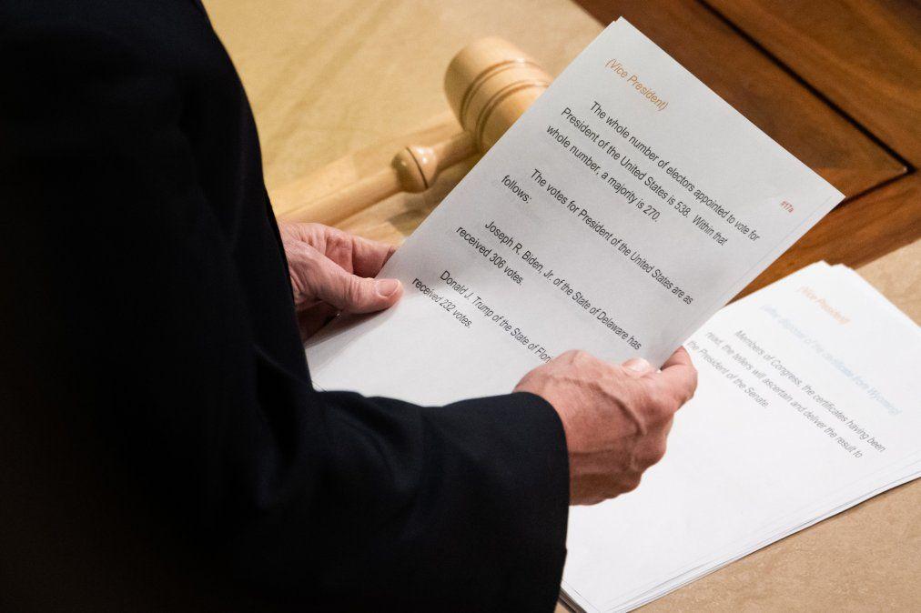 El vicepresidente Mike Pence
