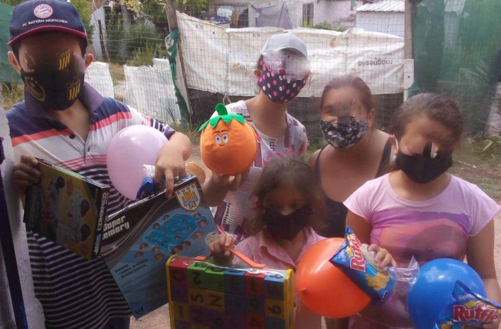 Los niños del Comedor Esperanza festejaron el Día de Reyes
