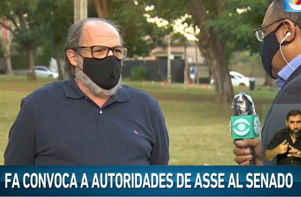 Frente Amplio convocará a autoridades de Asse para conocer estrategias por Covid