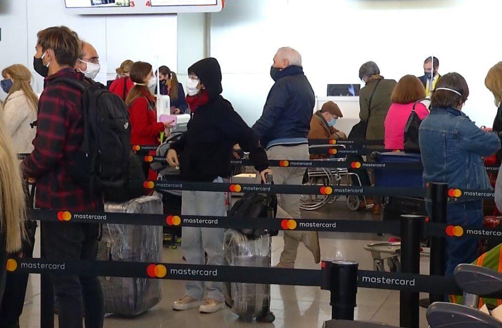 Hubo 3.159 excepciones de ingreso al país en los primeros 6 días de enero