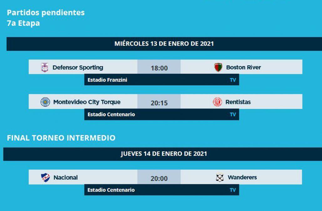Foto: Twitter Campeonato uruguayo