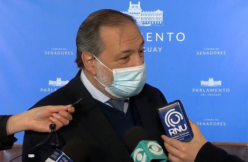 Senador Jorge Gandini en el Parlamento.